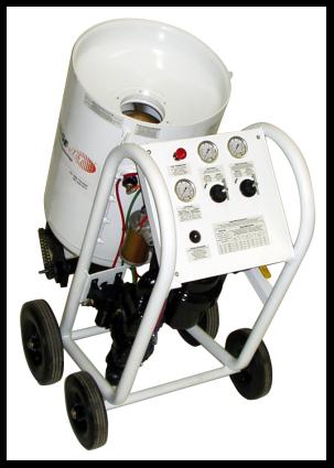 中国喷砂机 广州迪升探测工程技术供应质量好的可灵活移动喷砂机