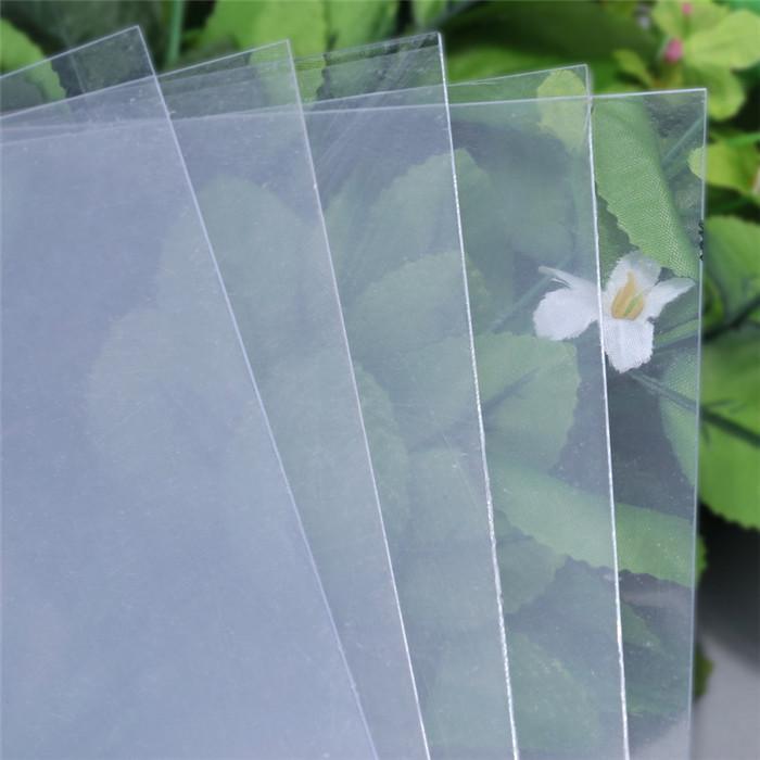 潮州PVC片材厂家-推荐东莞新款光白磨砂PVC塑料片