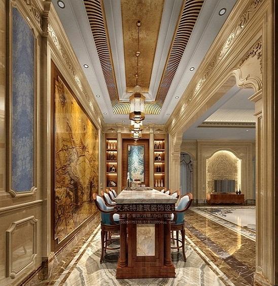 豪华装修别墅 服务周到的法式装修就在厦门艾禾特建筑装饰设计