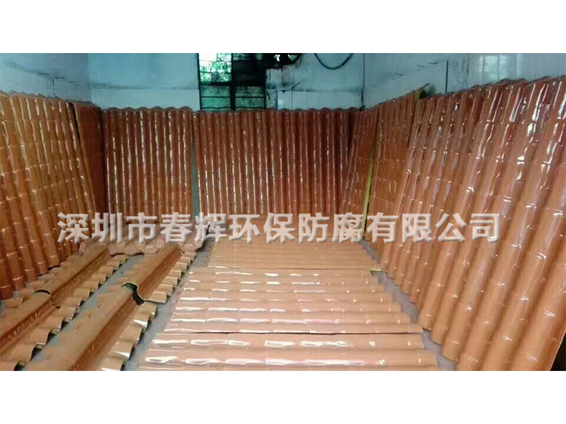 仿古瓦厂家-深圳地区销量好的玻璃钢仿古瓦
