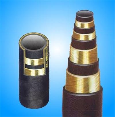热门高压钢丝缠绕胶管——宏禄橡塑制品供应安全的高压钢丝缠绕胶管