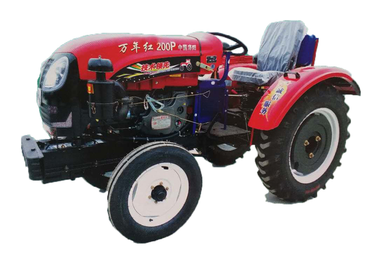 河南高质量的万年红200P拖拉机哪里有售 倾销万年红200P拖拉机