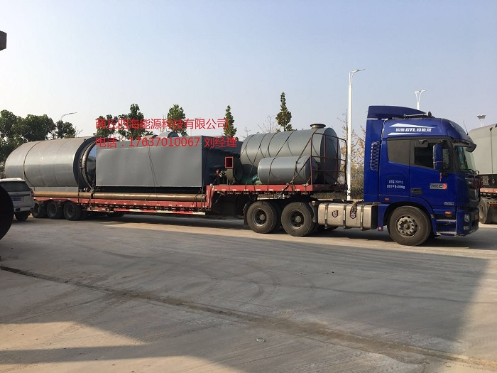 商丘轮胎炼油设备选商丘四海_价格优惠_废轮胎炼油催化