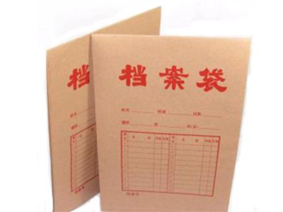 顺风纸制品有品质的档案袋,湖北加工定做各种档案盒