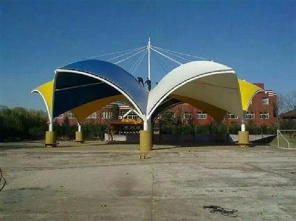 百色景观膜结构_专业设计制造景观膜结构