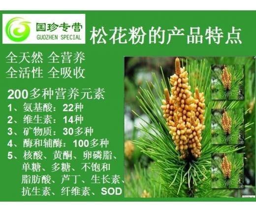 国珍松花粉代理 广东哪里可以买到热销国珍松花粉