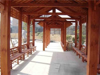 海南防腐木秋千——供应海南实用的防腐木长廊