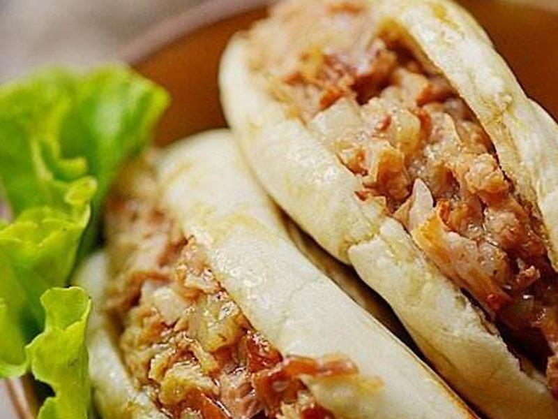 肉夹馍技术学习当选河南华百盛餐饮-郑州肉夹馍培训