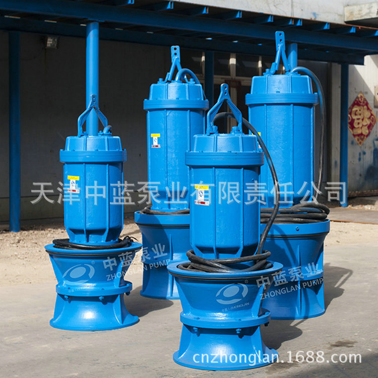 天津价格实惠的潜水轴流泵出售——双桥河潜水轴流泵