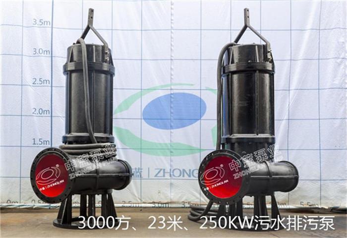 【推荐】天津中蓝泵业质量良好的污水潜水泵_新型污水潜水泵