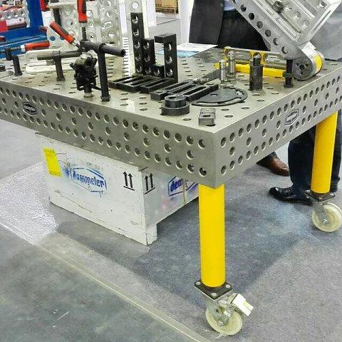 抚顺三维柔性焊接平台_【实力厂家】生产供应三维柔性焊接平台