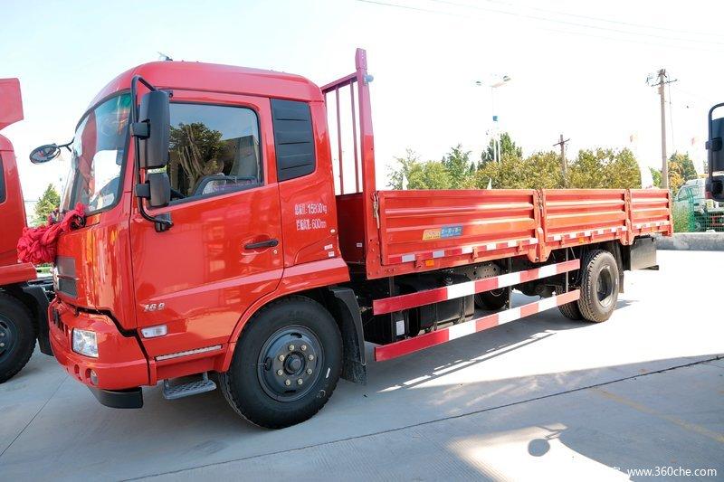 想买好用的东风天锦货车,就来凯恒货运,仓栅式载货车