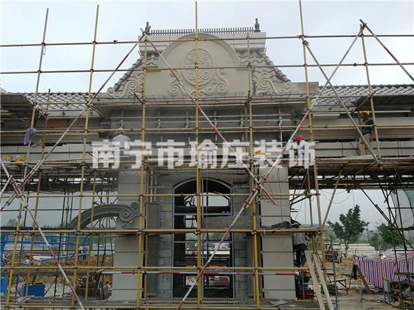 广西grc构件水泥欧式窗套供应