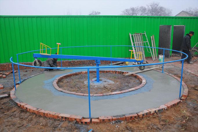 洛阳体能乐园360跷跷板供应商 提供儿童游乐设备