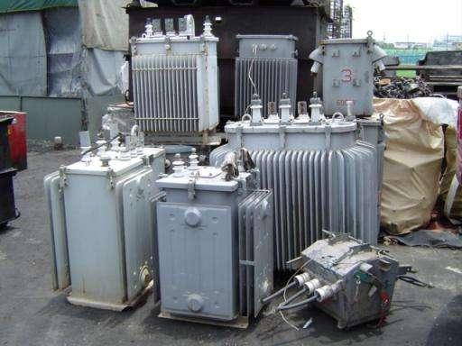 变压器回收厂品牌,价位合理的变压器海南中跃废品回收供应