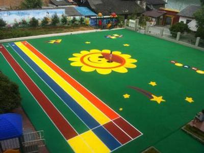 甘肃EPDM幼儿园地坪厂家|哪里能买到优惠的硅PU球场