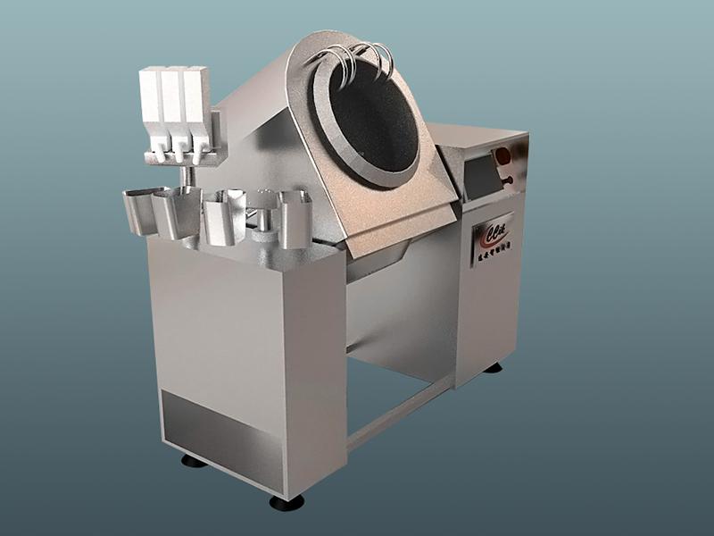 常州滚筒炒菜机|想买好用的滚筒搅拌炒菜机,就来苏州远安自动化