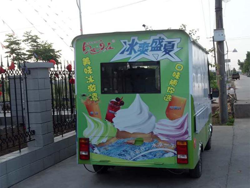 湖南冰淇淋车-美思嘉餐饮提供质量硬的冰淇淋车