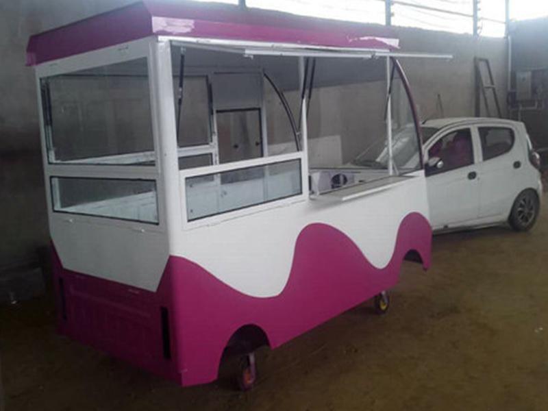 小吃三轮电动车-美思嘉餐饮供应值得信赖的三轮小吃车