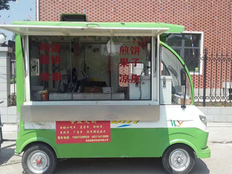 電動四輪小吃車價格-新款小吃房車在哪可以買到