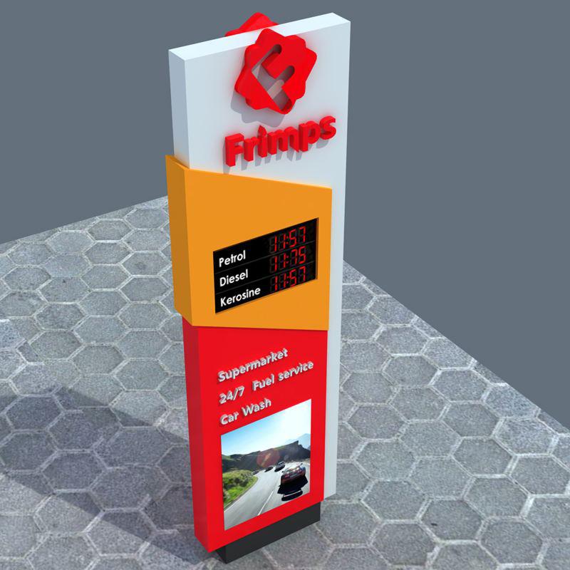 贵州哪里有专业的加油站价格牌供应—加油站价格牌最新报价
