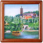 湖南珐琅画-哪里能买到特色礼品