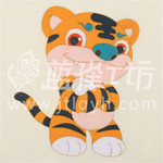 重庆艺术装饰画-名家手笔-卡通风格工艺画