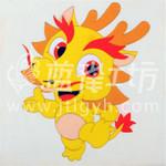 遼寧景泰藍掐絲琺瑯唐卡-供應廣東搶手的卡通風格工藝畫