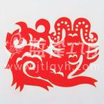 西藏手绘唐卡-剪纸-精美艺术品