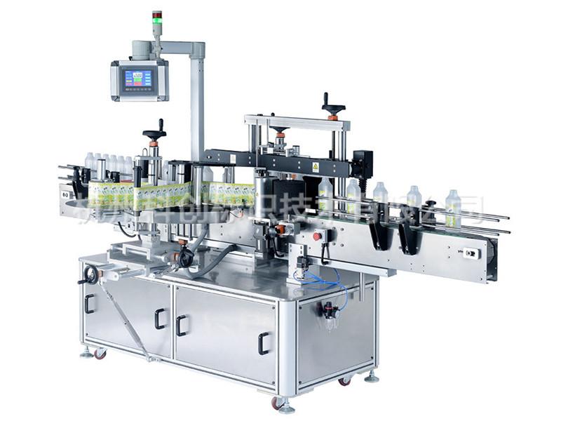 杭州科创标识技术供应高质量的慧锐圆瓶贴标机-贴标机操作方法