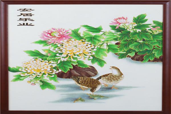 中国七宝烧|出售出色的掐丝珐琅画
