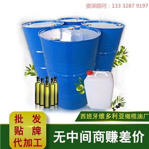 广州纯橄榄油批发供应|广元西班牙进口橄榄油200公斤/桶散油批发