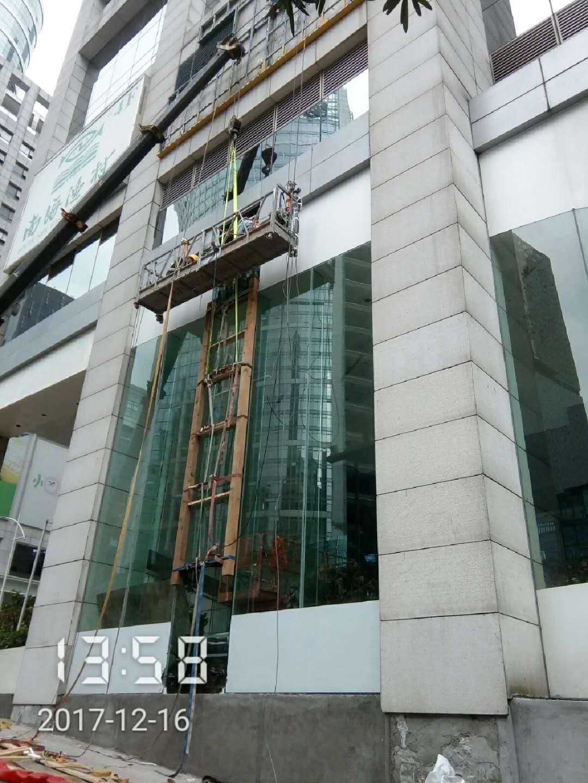 广州提供好的超长玻璃安装服务 ,超高难度玻璃安装