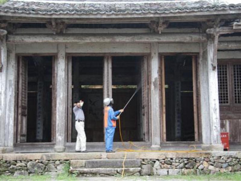 泉州专业的古建筑白蚁防治公司是哪家 古建筑白蚁防治策划
