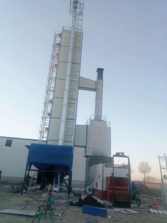20吨粮食烘干塔厂家 开原赢鑫粮食烘干设备供应高质量的粮食烘干塔