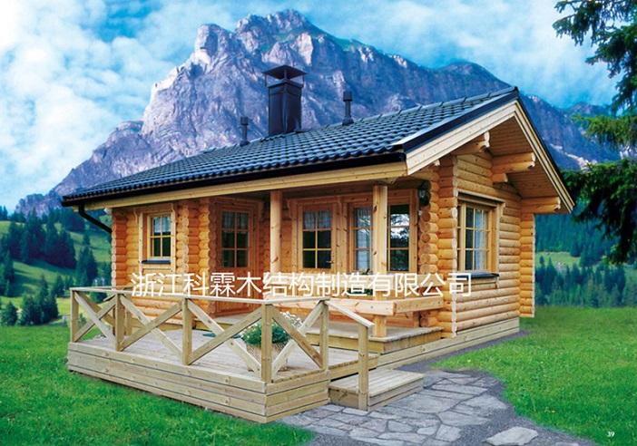 轻型木结构房——供应浙江价格合理的木屋