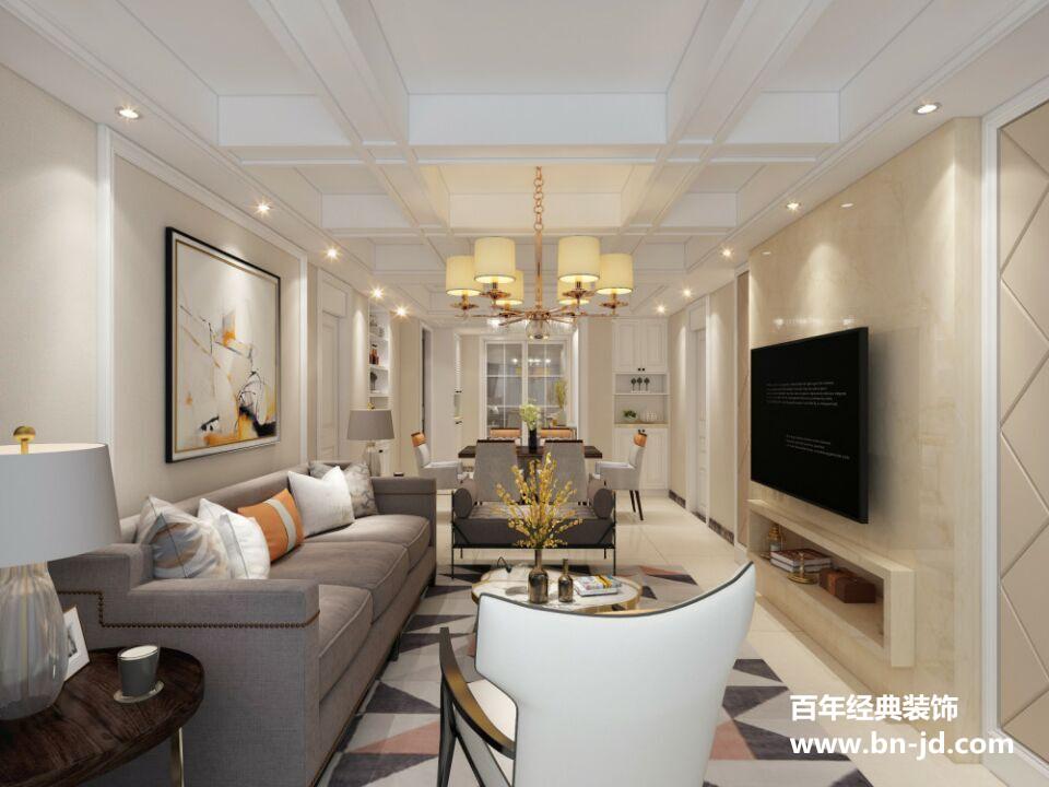 绍兴装修设计,百年经典装饰,简美风格案例,室内装修