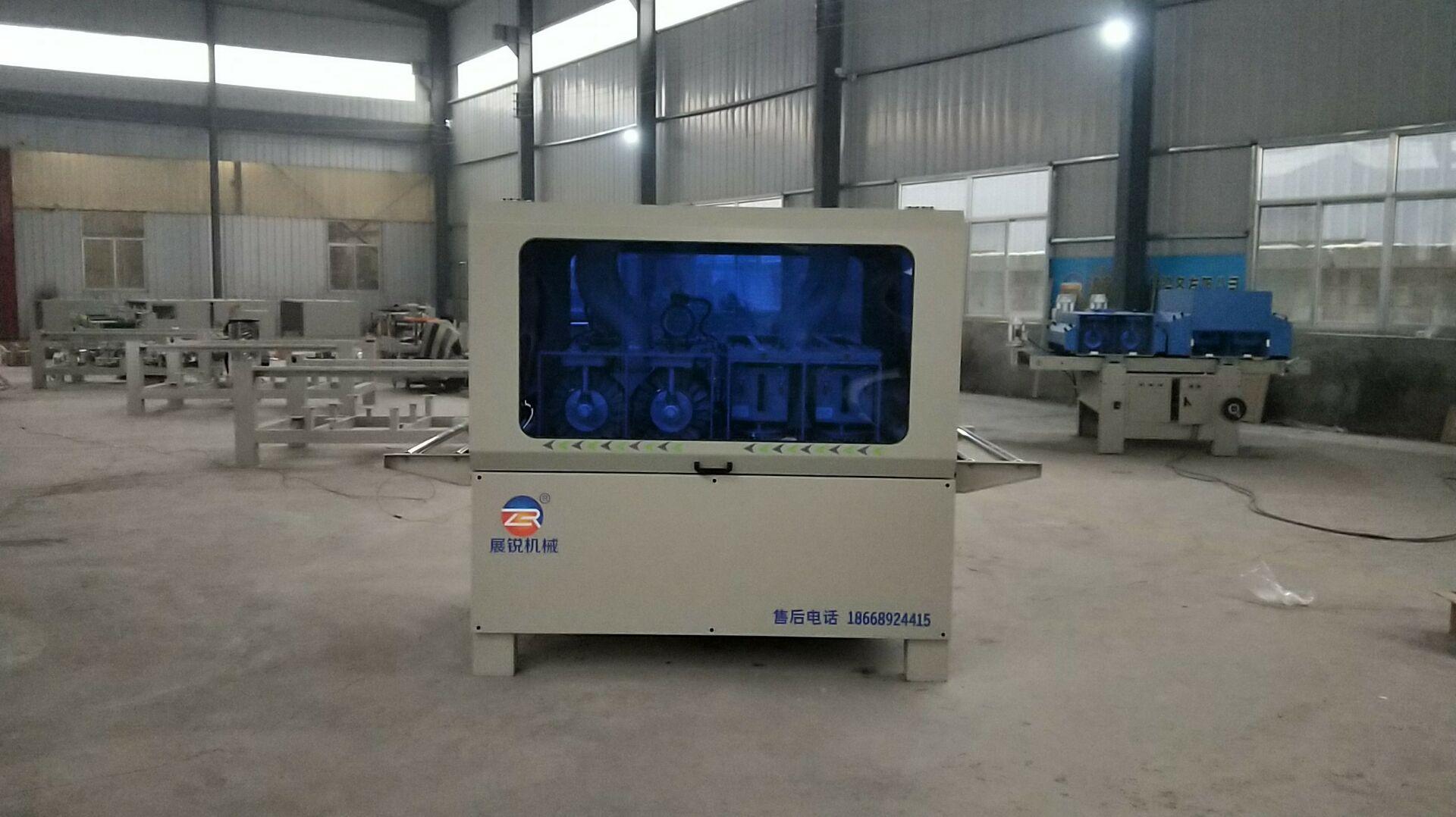 选购质量好的异型砂光机当选展锐机械设备 青岛4辊异形砂光机价格