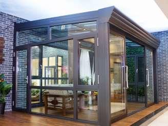沈阳泰裕铝塑型材——专业的沈阳断桥铝门窗提供商辽中阳光房