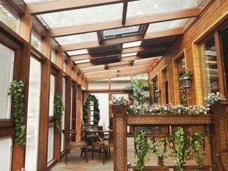 为您推荐沈阳泰裕铝塑型材品质好的沈阳阳光房-盘锦系统门窗厂家