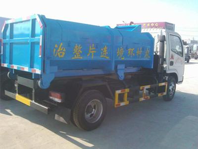 消防车-供应物超所值≡的东风3308车厢可∮卸式垃圾车