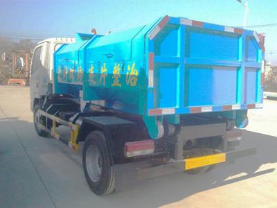 污水处理车-江南专用特种汽车提供有品质的东风3308车厢可卸式垃圾车