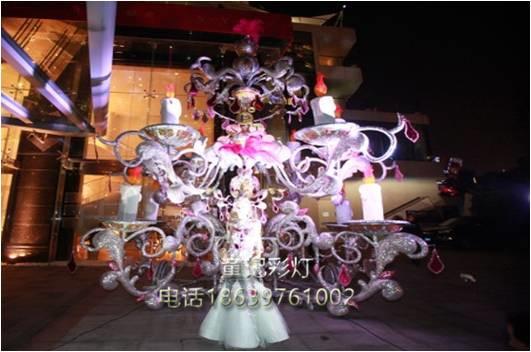 北京彩灯制作厂——专业彩车厂家