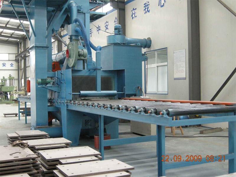 供应钢板预处理抛丸机,希凯姆机械高质量的抛丸机出售