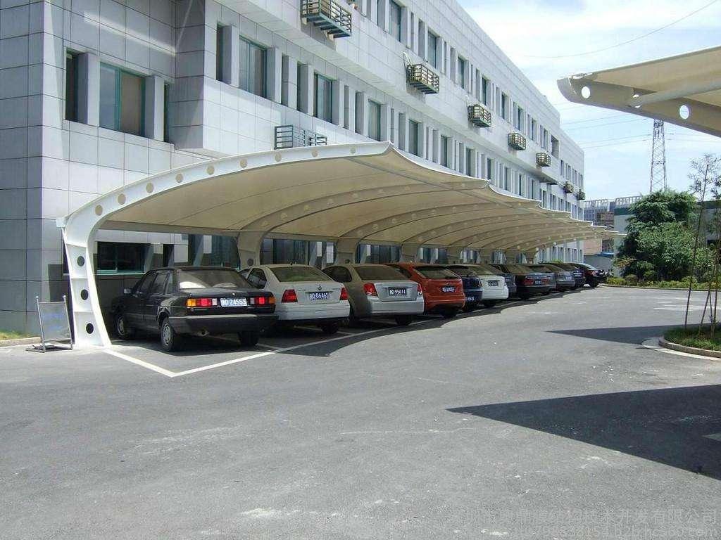 车棚膜结构