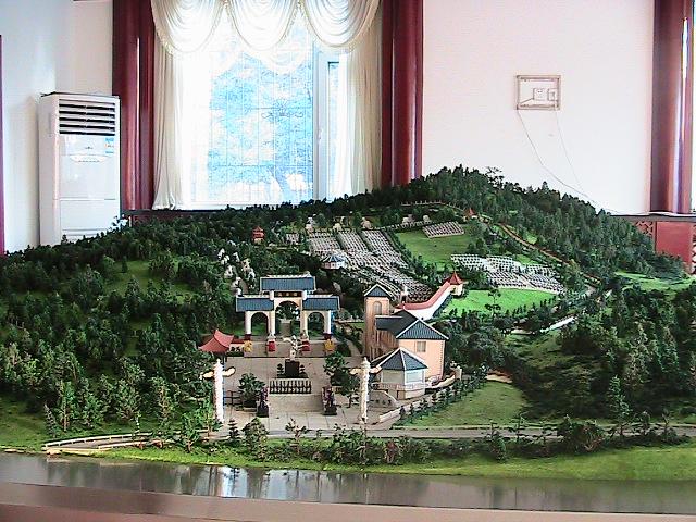 沈阳信誉好的公益墓园沙盘模型制作公司推荐_长春公益墓园沙盘模型制作