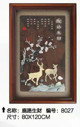 丹东玉雕壁画 出色的玉雕壁画当选岫岩圣元玉雕商店