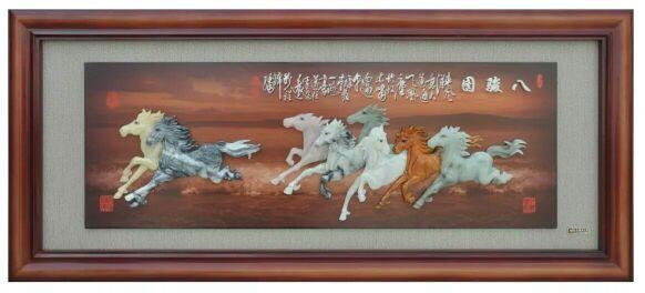 营口玉石壁画价格|买有品质的玉石壁画,就到岫岩圣元玉雕商店