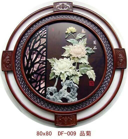 鞍山玉石壁画价格-买质量超群的玉石壁画,就到岫岩圣元玉雕商店