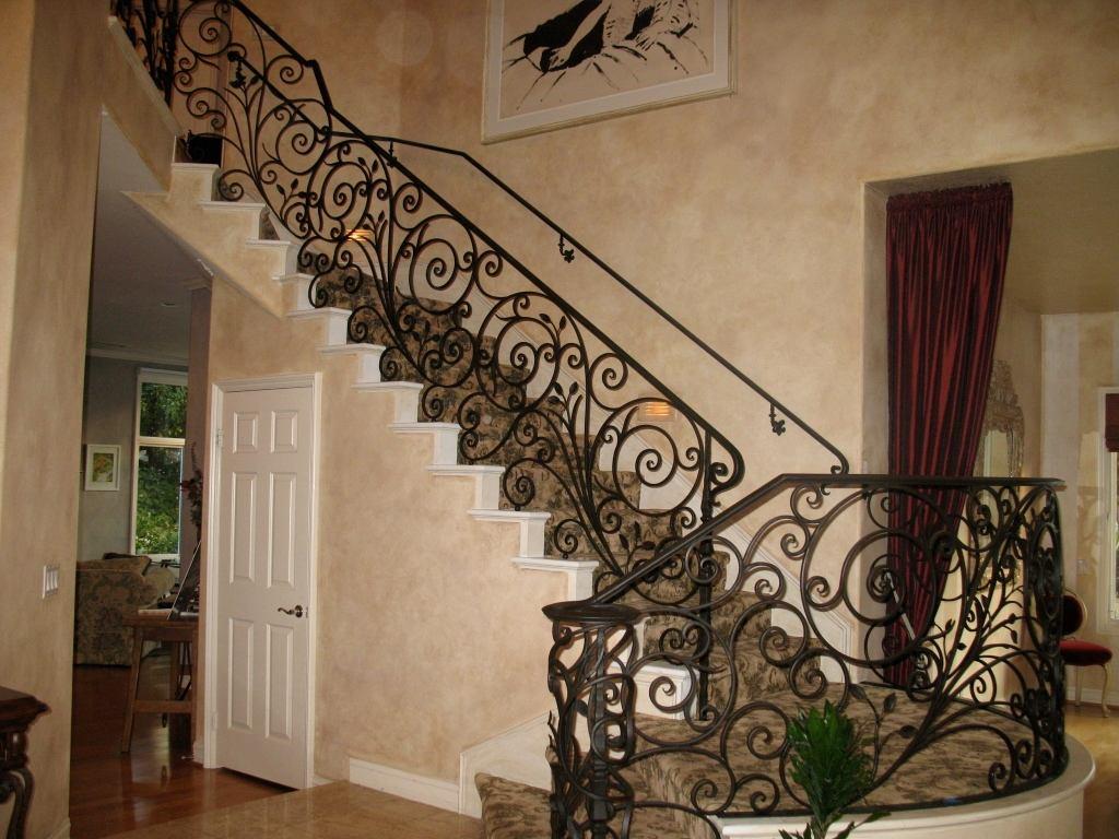 铁艺楼梯制作-沈阳翰祥白钢铁艺出售超值的铁艺楼梯